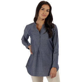Regatta Mackayla - T-shirt manches longues Femme - bleu